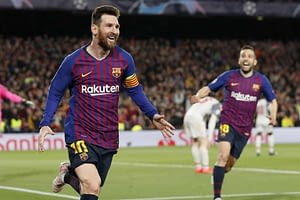 DraftKings UCL Picks DFS cheat sheet Lionel Messi & Thiago on March 10