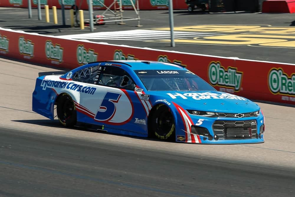 Ally Bank 400 NASCAR DFS Picks DraftKings FanDuel at Nashville Superspeedway expert strategy advice with Kyle Larson