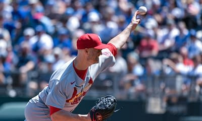 Best MLB bets today odds picks betting player props predictions tonight strikeouts over/under parlays against the spread Cardinals