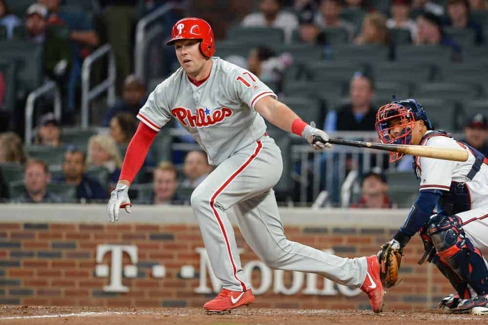 MLB DFS Picks for DraftKings + FanDuel contests on Awesemo's Deeper Dive Show with Rhys Hoskins on Saturday, May 1.