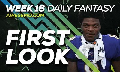 Ben Rasa and Sal Vetri give out Week 16 NFL DFS Picks & go over the salaries on DraftKings, FanDuel and Yahoo for your Fantasy Lineups.