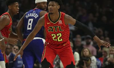 Damien's daily Pick 3! SuperDraft article gives out his top NBA DFS Picks for 3/11/20, including John Collins and Cam Reddish.