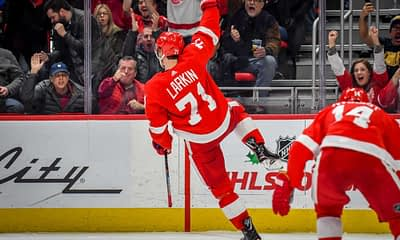 Michael Clifford offers his top NHL DFS picks for the slate on 3/10, which includes top options like Dylan Larkin and Mika Zibanejad.