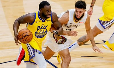 NBA betting picks tonight for Hornets vs Warriors featuring Draymond Green