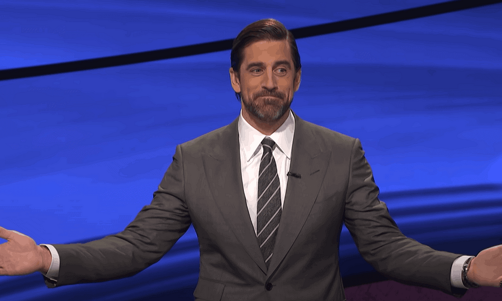"""Green Bay Packers quarterback Aaron Rodgers is once again being linked to the """"Jeopardy!"""" host job after the new host dropped out over controversial comments"""