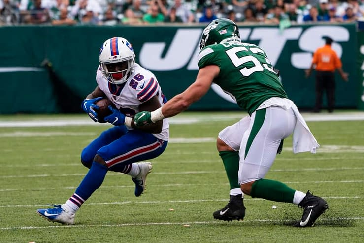 NFL best bets, betting odds, picks and predictions for Week 6 NFL MNF game Bills vs. Titans using expert betting tools & simulations