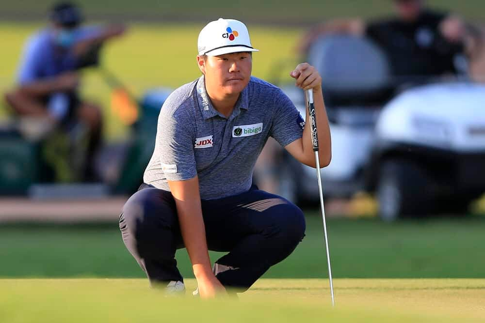 Awesemo's free expert golf stats breakdown and PGA DFS Picks for the Sanderson Farms Championship including Sungjae Im and Sam Burns.