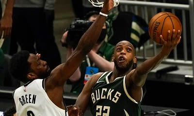 Khris MIddleton NBA Player Prop betting picks odds predictions tonight Sunday June 13 2021 Nets vs. Bucks Eastern Conference Playoffs Semifinals ROund 2 over/under points assists rebounds moneyline parlay spread best bets