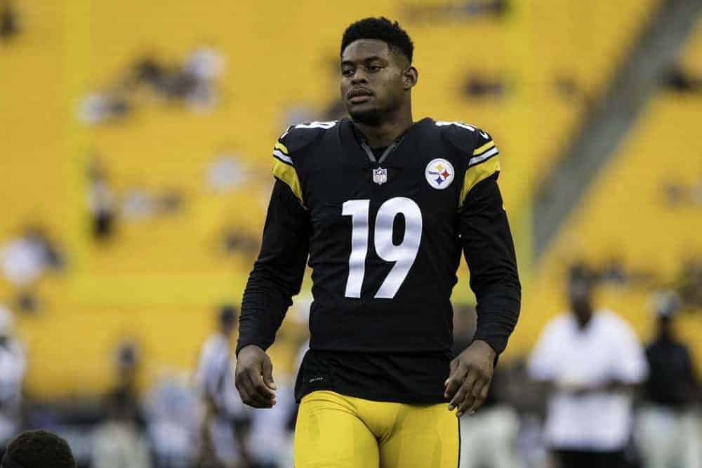 Pittsburgh Steelers wide receiver JuJu Smith-Schuster had some thoughts on the wild fight at Heinz Field that started with a woman slapping a man