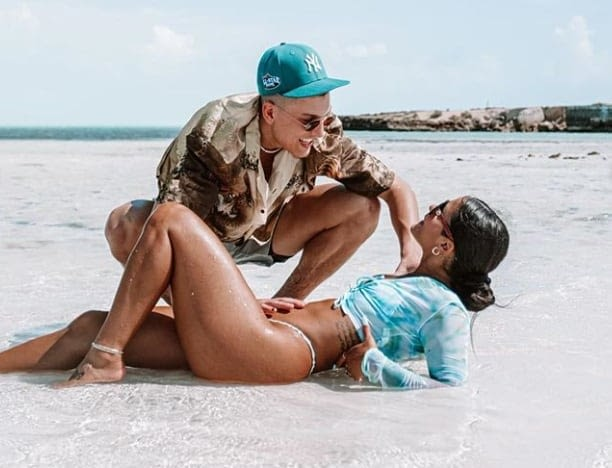 Kayta Elise Henry showed off a new ring on her Instagram, which is leading to heavy speculation she's engaged to Tyler Herro