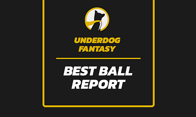 Free expert Underdog Best Yahoo DraftKings FFPC Ball Fantasy Football Draft ADP rankings average draft position projections