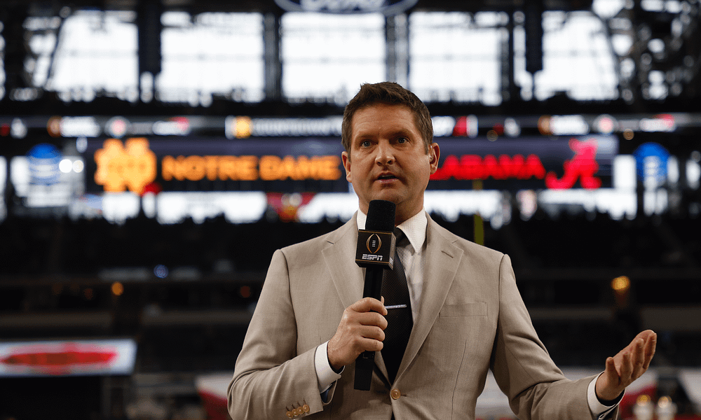 Following a rather alarming appearance over the weekend, longtime ESPN reporter Todd McShay announced that he was stepping away from the network due to health