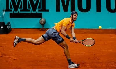 Josh Anderson uses Awesemo's expert projections to find the best DraftKings Tennis DFS picks for Belgrade and Lyon   5/19/21