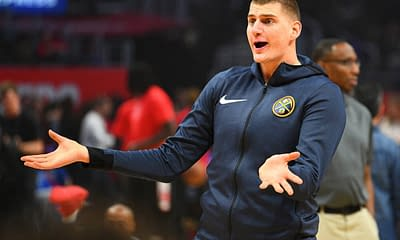 Zach Brunner utilizes the Awesemo Boom/Bust Tool for NBA Fantasy projections for DraftKings and FanDuel today with Nikola Jokic.