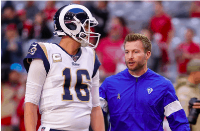 L.A. Rams coach Sean McVay sounds like a whole new man now that he has Matthew Stafford at QB instead of Jared Goff