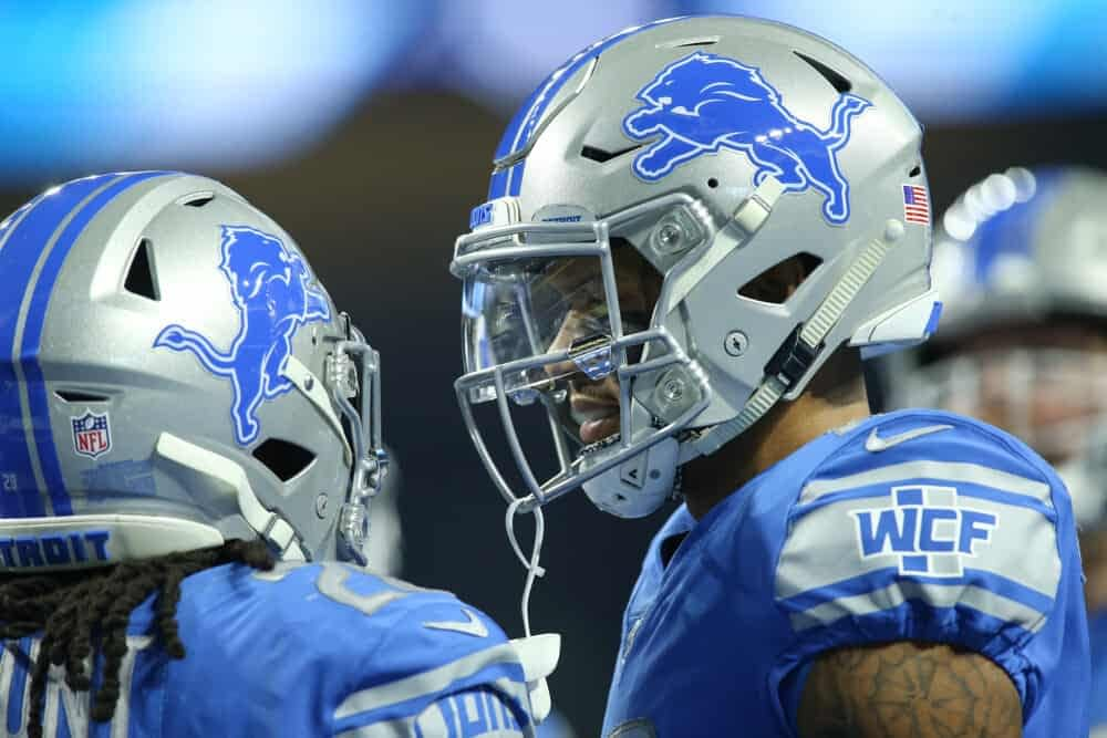Week 9 fantasy football start 'em sit 'em lineup advice from Awesemo season-long fantasy experts | Kenny Golladay, Chris Godwin + Josh Jacobs