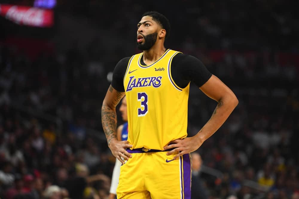 NBA DFS Picks for DraftKings and FanDuel daily fantasy basketball Lineups on Thursday January 21 2021 first look strategy show featuring Anthony Davis