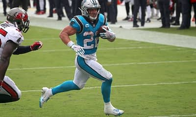 Greg Ehrenberg breaks down the Week 9 daily fantasy football news and gives NFL DFS Picks for DraftKings + FanDuel | Christian McCaffrey