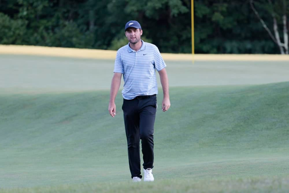 DraftKings & FanDuel Fantasy GOlf Picks for Valspar Championship lineups this week based on Awesemo's ownership projections, rankings and contrarian GPP rosters with Scottie Scheffler