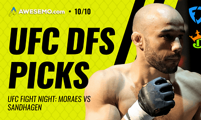 The MMA DFS strategy show for UFC Fight Night Moraes vs Sandhagen with Jason Floyd and Pete 'The Heat' Rogers for DraftKings + FanDuel