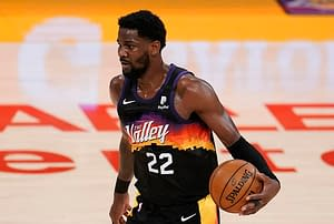 Phoenix Suns center DeAndre Ayton is trending after it was reported that an investigation into Suns owner Robert Sarver could result in him losing the team