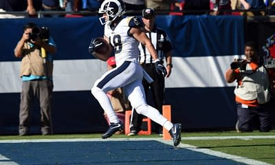 NFL Top Stacks DFS picks Week 7 daily fantasy football optimal lineup optimizer projections rankings ownership today tonight Rams Cooper Kupp