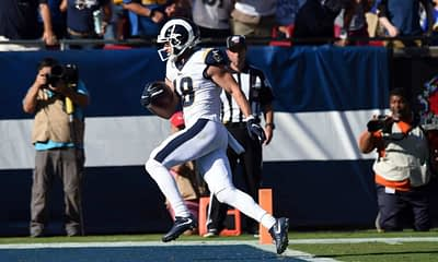 The best Week 15 NFL DFS picks at WR like Cooper Kupp and Allen Robinson for DraftKings + FanDuel daily fantasy football based on matchup