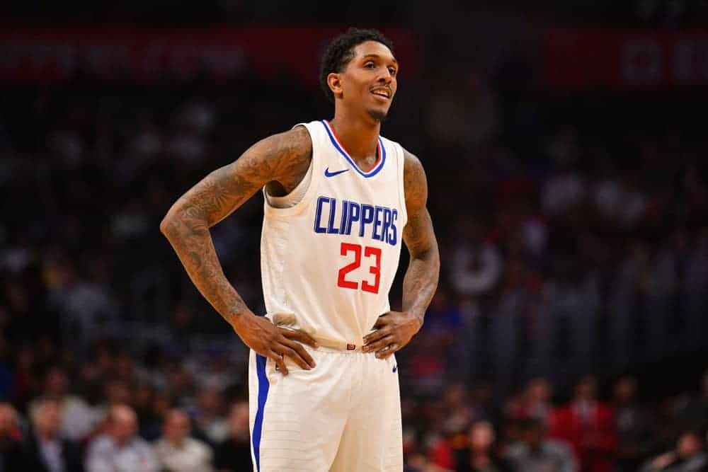NBA Daily Fantasy picks for DraftKings and FanDuel DFS lineups on Tuesday, January 26 2021 based on Awesemo's expert projections and ownership featuring DeMarcus Cousins and Lou Williams