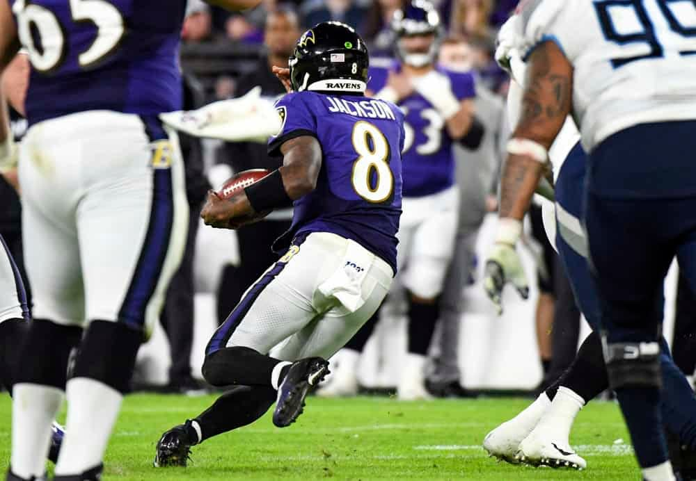 Week 11 NFL DFS Picks FanDuel Cheat Sheet Daily Fantasy Football Lineups Expert Projections Ownership Lamar Jackson