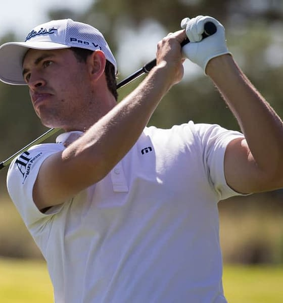 PGA DFS Picks for Genesis Invitational DraftKings and FanDuel Fantasy GOlf lineups with expert ownership projections from Awesemo featuring Patrick Cantlay