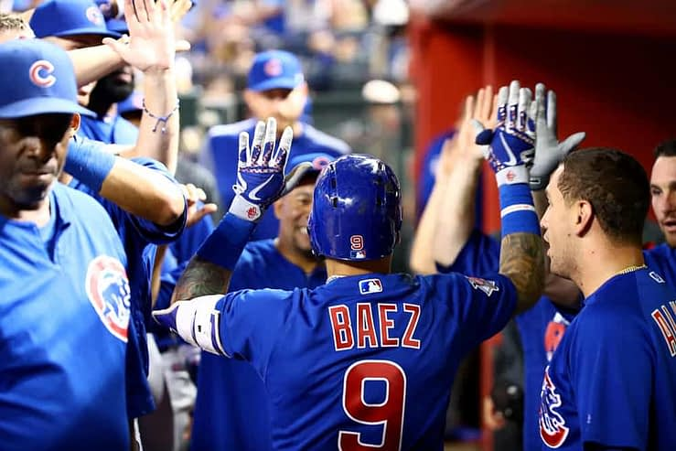 FanDuel MLB DFS cheatsheet for 9/30, MLB DFS picks like Javier Baez based on projections and ownership from the world's No. 1 DFS player.