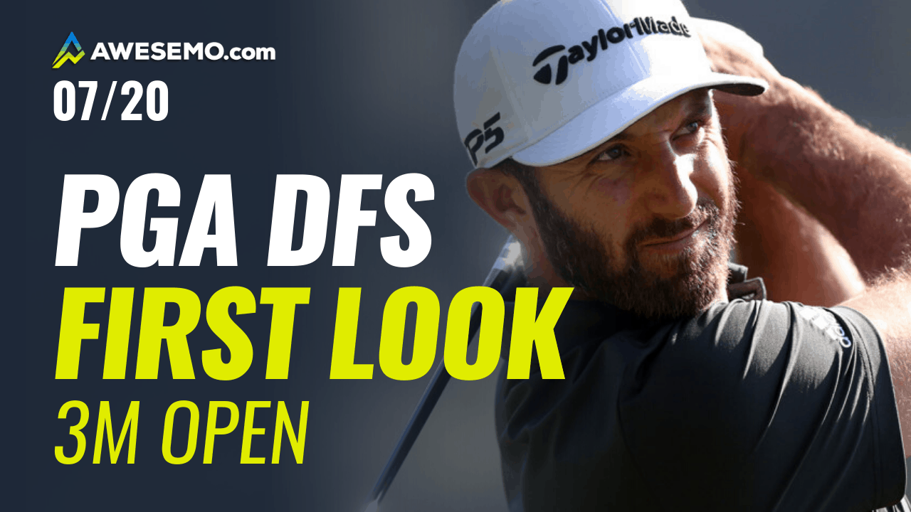 The PGA DFS First Look with Jason Rouslin, Sal Vetri & Geoff Ulrich giving PGA DFS Picks for the 3M Open on DraftKings & FanDuel + best bets! Dustin Johnson + Tommy Fleetwood