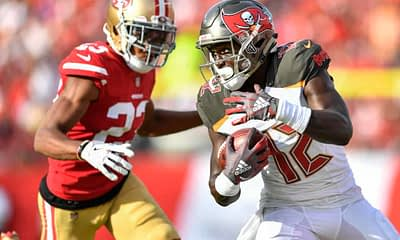 Week 11 DraftKings Cheat Sheet NFL DFS Picks Daily Fantasy Football Monday Night FOotball Rams Bucs Chris Godwin