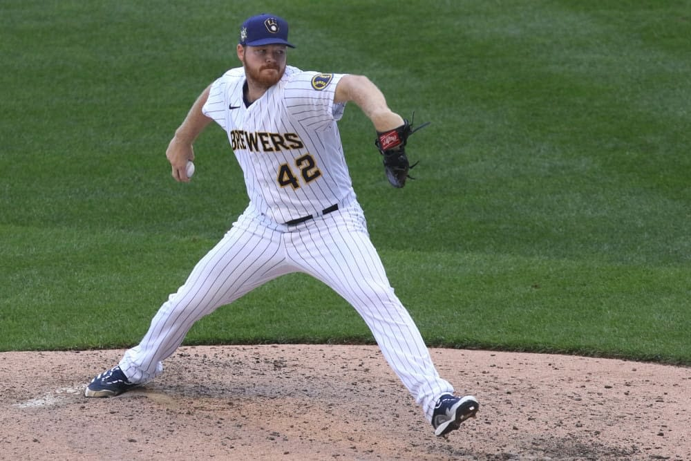 The best free expert MLB bets today with Las Vegas betting odds and player prop picks like Brandon Woodruff O/U 5.5 Strikeouts on Tuesday, 9/28/21