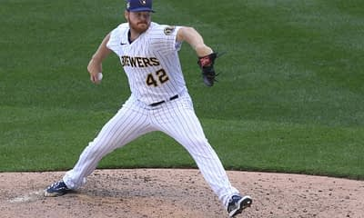 Al Walsh gives top his top MLB picks and props for Monkey Knife Fight on today's fantasy baseball slate with Brandon Woodruff and Lance Lynn.