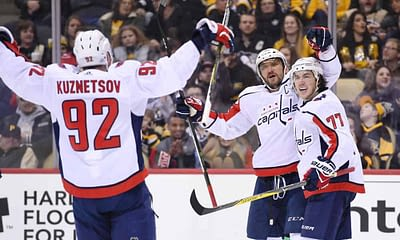 NHL Betting picks tonight Capitals vs Bruins moneyline and spread