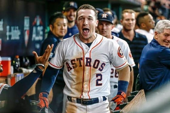 DraftKings MLB DFS cheatsheet for 10/5 MLB DFS picks like Alex Bregman based on projections and ownership from the world's No. 1 DFS player