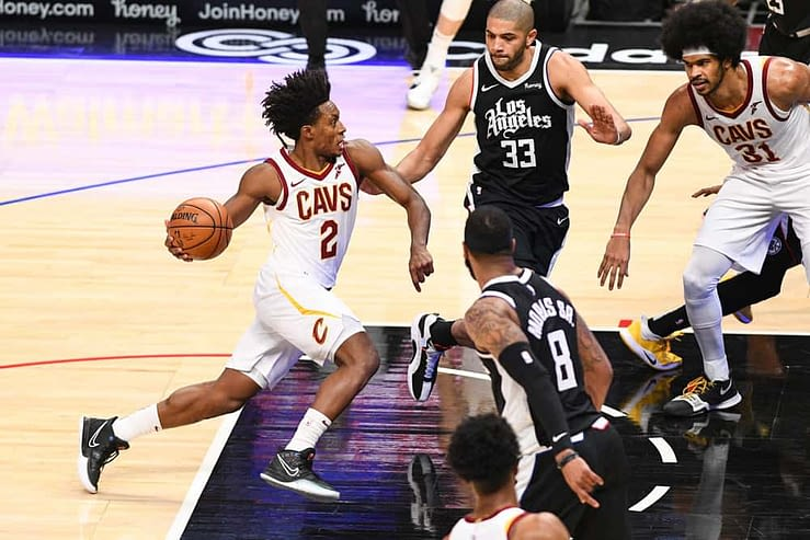 NBA DFS FanDuel daily fantasy basketball lineups cheat sheet 5/10/21. Awesemo's expert picks and projections for May 10 with Collin Sexton.