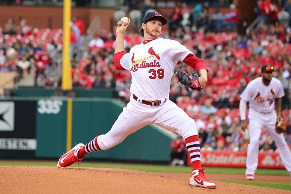 DraftKings DFS MLB picks like Mike Mikolas for September 1 MLB DFS based on projections and ownership from the number 1 DFS player.