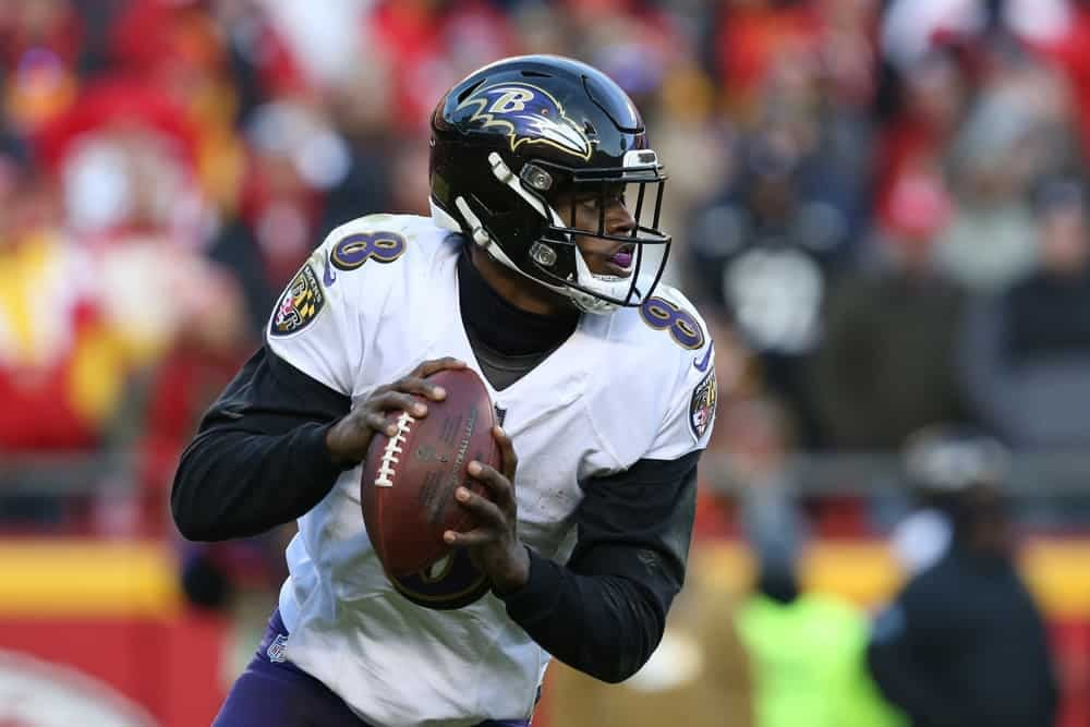 NFL DFS picks for Wild Card Weekend Playoffs based off Awesemo's premium tool on DraftKings + FanDuel