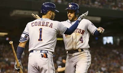 MLB DFS Picks: FanDuel Cheatsheet 10/11 | George Springer + More