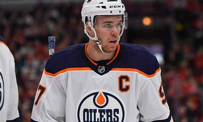 NHL DFS Picks for DraftKings and FanDUel fantasy hockey lineups using Awesemo's expert Top Stack tool with Connor McDavid and Edmonton Oilers