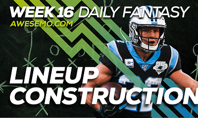Manny Lora and Chris Randone sit down to discuss how to build NFL DFS lineups on DraftKings & FanDuel, including Christian McCaffrey & more!