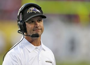 Ravens coach John Harbaugh fired right back at Vic Fangio after the broncos coach said it was 'BS' that he ran the ball on final play of game