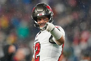 Tampa Bay Buccaneers quarterback Tom Brady threw some savage shade at Ohio State and Justin Fields when speaking about this week's matchup with the Bears