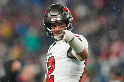 Tampa Bay Buccaneers fan Byron Kennedy has one request from Tom Brady after giving up his 600th career touchdown ball