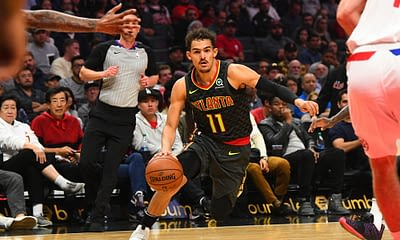 Awesemo brings the 4/7/21 NBA Yahoo Picks cheat sheet for daily fantasy basketball lineups on April 7, including Trae Young.