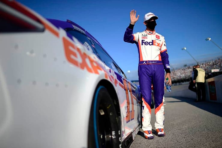 Toyota Owners 400 NASCAR DFS Picks for DraftKings & FanDuel daily fantasy racing lineups this weekend at Richmond International Speedway with Denny Hamlin and Martin Truex Jr.
