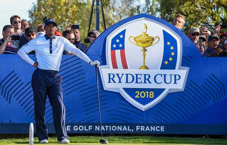 """Tom Felton, who played Draco Malfoy in the """"Harry Potter"""" series, collapsed during a celebrity event at the Ryder Cup on Thursday"""