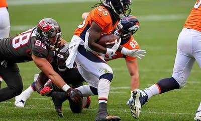 NFL Player prop bets betting picks Week 7 THursday Night Football Broncos vs. Browns today tonight free expert predictions odds lines parlays moneyline over/under best bets